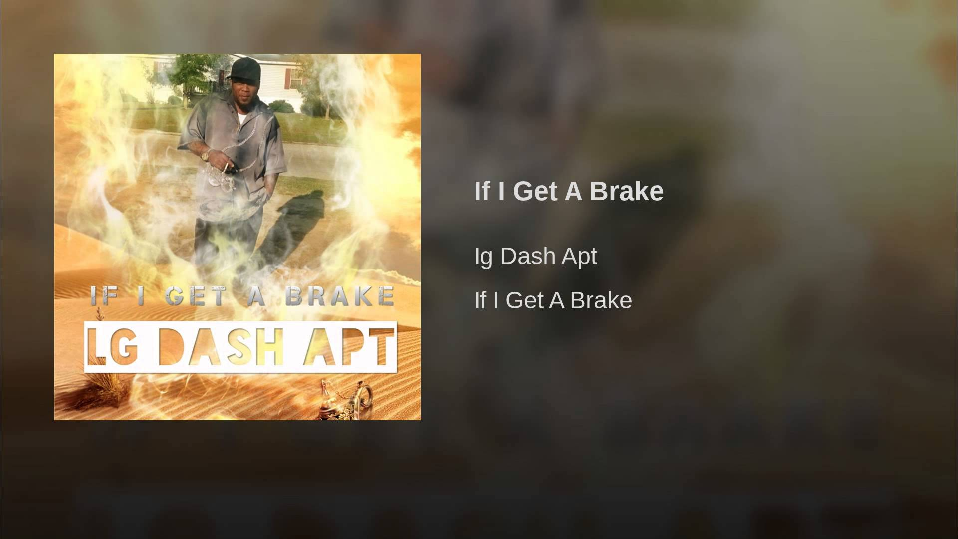 LG Dash Apt – If I Get A Brake (Audio) [User Submitted]