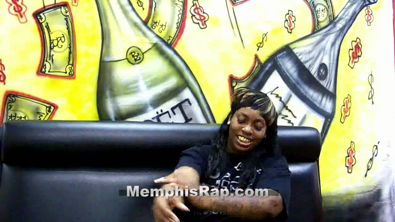 Rapper La Chat Talks 'Hood Homegirl'; Reveals Secret Tattoos To MemphisRapTV