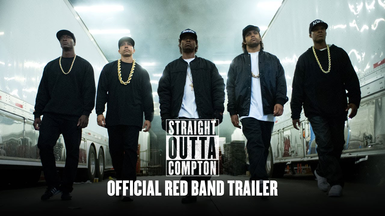 Straight Outta Compton (2015) [Movie Trailer #1 with Introduction from Dr. Dre and Ice Cube]
