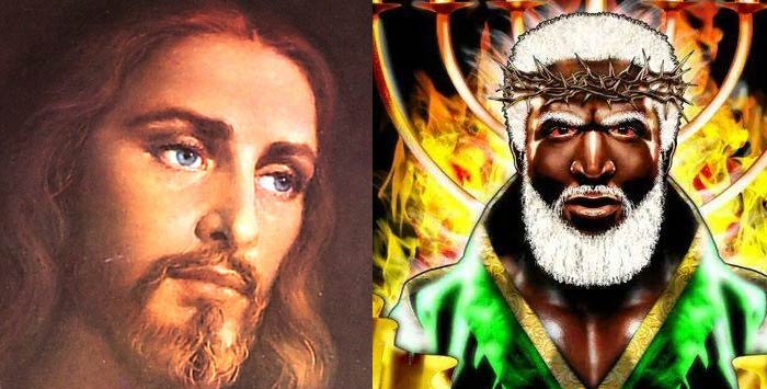 White Jesus vs Black Jesus