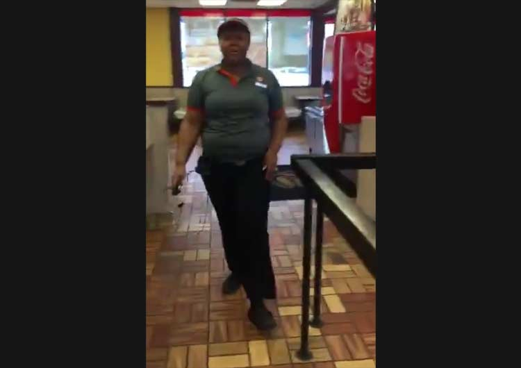 Caught On Video: Burger King Employee SNAPS and Threatens Customer Over Milkshake