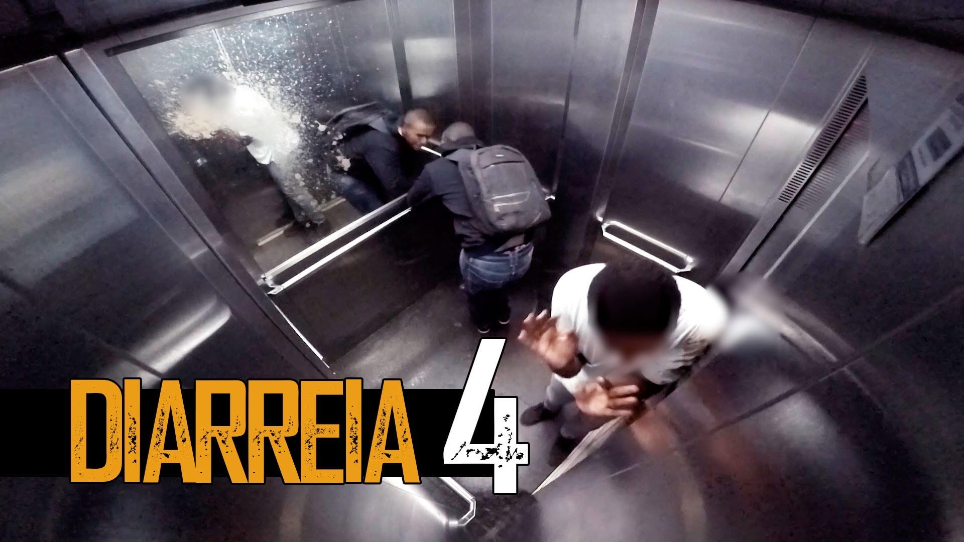Explosive Diarrhea In Elevator Prank