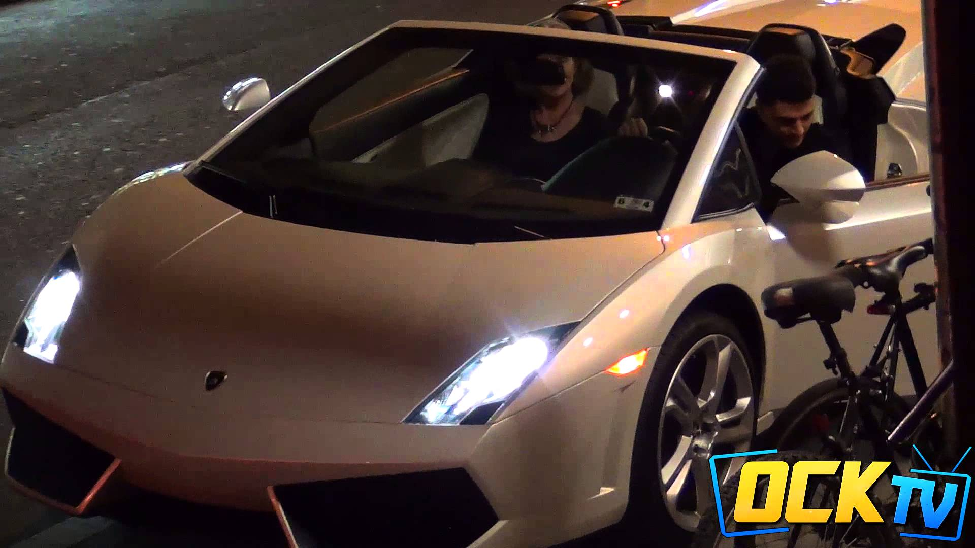 Picking Up Grandmas With a Lamborghini, One Woman Disses Husband For A Ride