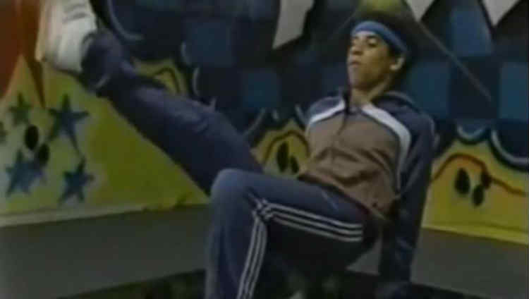 This is Video of a Young 'Vin Diesel' Breakdancing To Hip-Hop