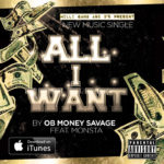 OB Money Savage - All I Want Song Cover
