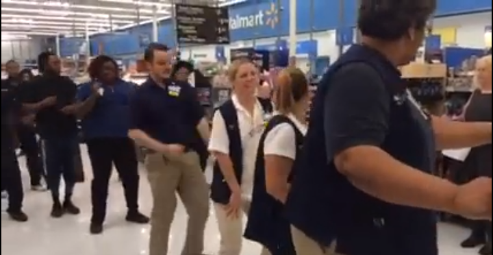 Watch: Walmart Employees Go Old Skool, Dance For Fundraiser For LeBonheur