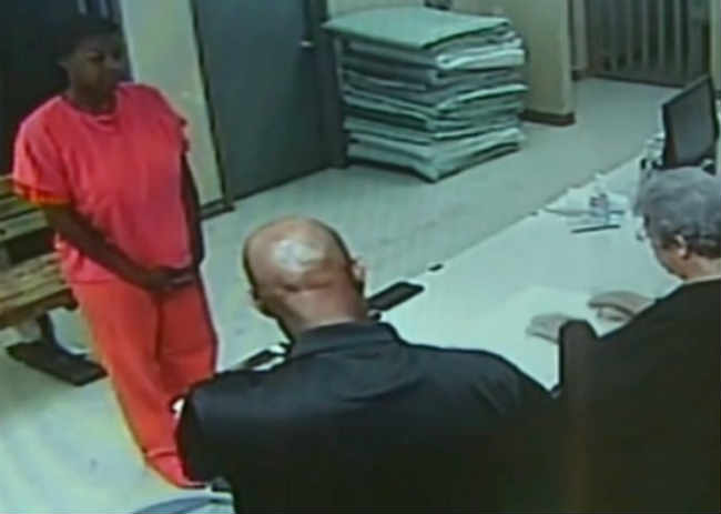 Sandra Bland jail video processing