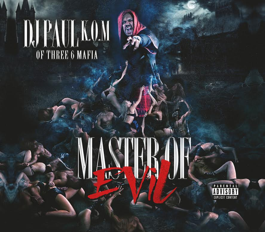 DJ Paul Master of Evil album cover