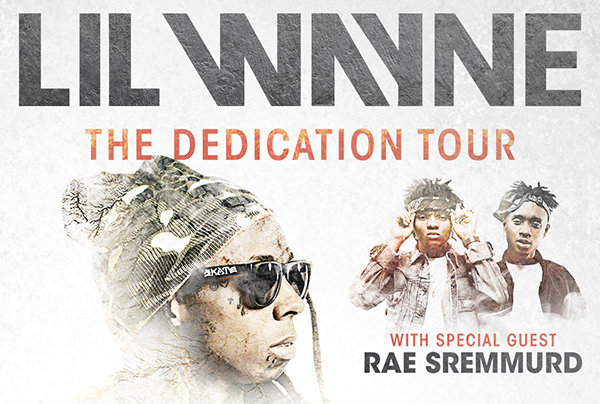 Lil Wayne The Dedication Tour with Rae Sremmurd