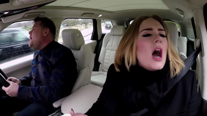 Adele and James Corden Nicki Minaj Carpool Karaoke