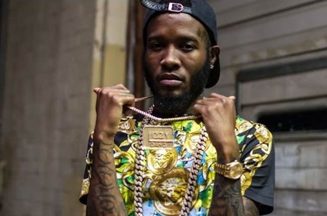 Shy Glizzy with chain