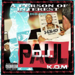 PHOTO: DJ Paul of Three 6 Mafia Person Of Interest mixtape cover