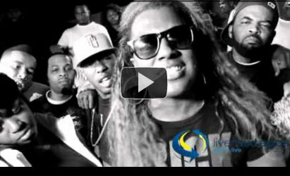 PHOTO: Gangsta Boo Kill, Kill, Kill Music Video