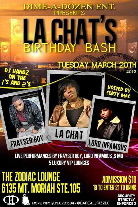 La Chat Birthday Bash