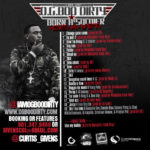 PHOTO: OG Boo Dirty - Born A Soldier Die A Vet Mixtape back cover + tracklisting