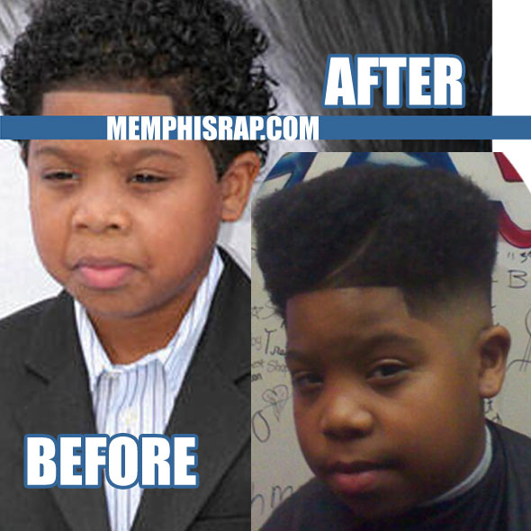 PHOTO: Rapper Lil P-Nut New Hi-Top Fade Haircut, Hairstyle