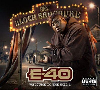 PHOTO: E-40 Block Brochure album art