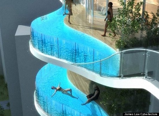 PHOTO: Apartments Swimming Pool Balconies