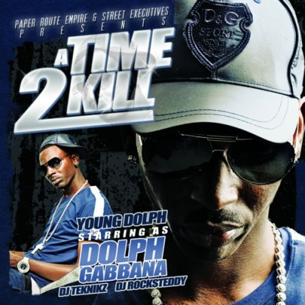 Young Dolph - A Time 2 Kill mixtape cover