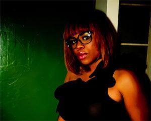 Female rapper, singer Freckles