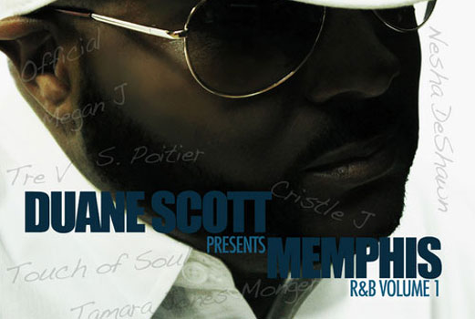 Duane Scott Presents: Memphis R&B Volume 1 back cover