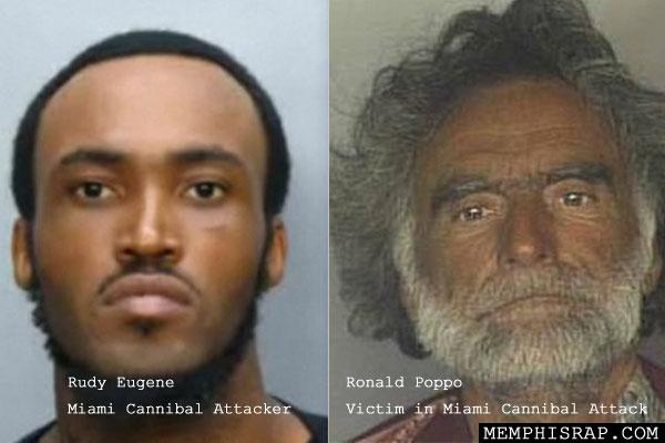 PHOTOS: Miami Cannibal Attack men identified as Rudy Eugene, Ronald Poppo