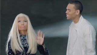 PHOTO: Nicki Minaj and Chris Brown