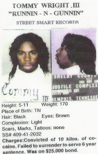 Tommy Wright III - Runnin N Gunnin Tape