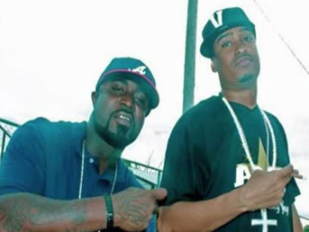 Photo of rappers C-Good and Young Buck