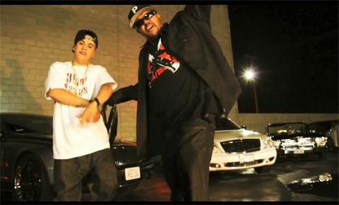 Photo - DJ Paul in the music video Wildn with Kokoe