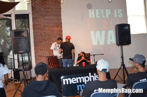Photo of Don Trip at Memphis Music Foundation backstage pass