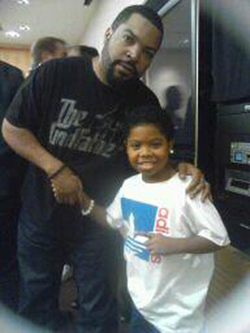 Photo of Rappers, actors Lil P-Nut and Ice Cube