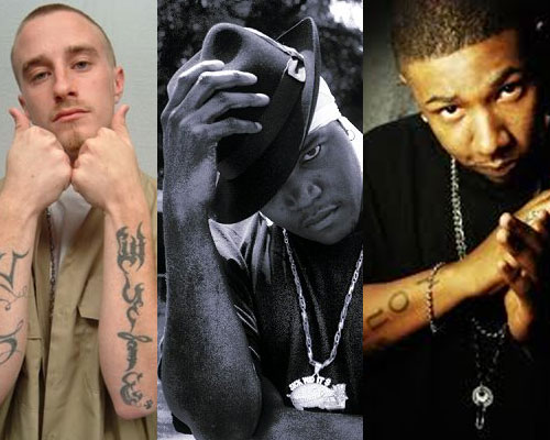 Photo of rappers Lil Wyte, Al Kapone, Miscellaneous