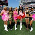 Photos of Tennessee Titans Cheerleaders Halloween Costumes