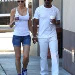 Photo of Eddie Murphy and new girlfriend Paige Butcher at Starbucks