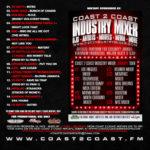 Coast 2 Coast Mixtape Volume 225 hosted by Yo Gotti back cover