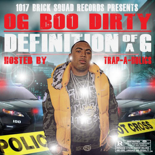 OG Boo Dirty Definition Of A G Mixtape cover