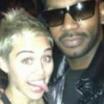 Photo of Miley Cyrus and Juicy J partying together