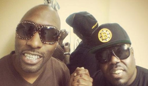 Rapper MJG no dreads with 8Ball