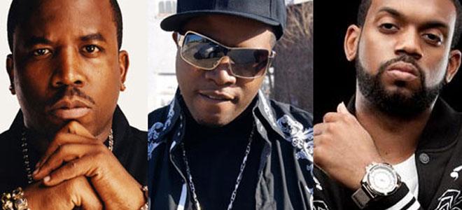 Photo of rappers Big Boi, Al Kapone, Don Trip
