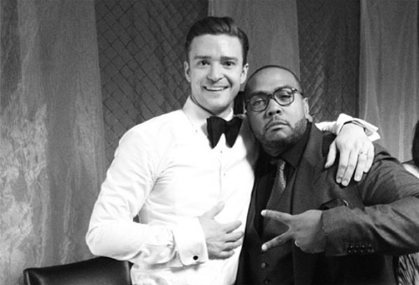 Justin Timberlake and producer Timbaland