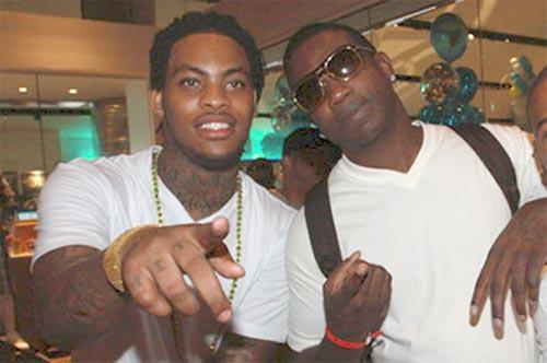 Waka Flocka Flame and Gucci Mane