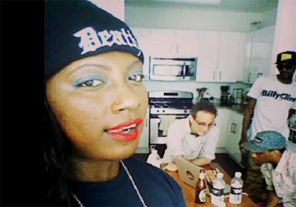 Gangsta Boo in God of Black freestyle rap