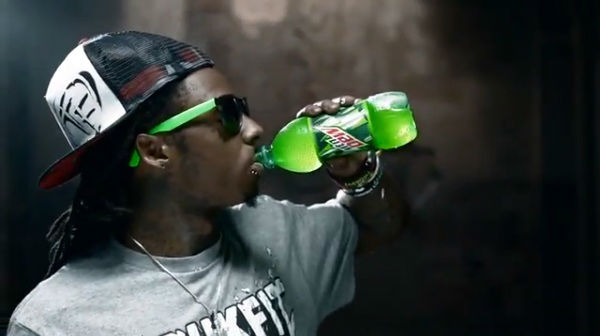 Lil Wayne Mountain Dew