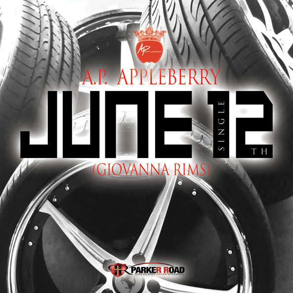 A.P. Appleberry - June 12th (Cover Artwork)
