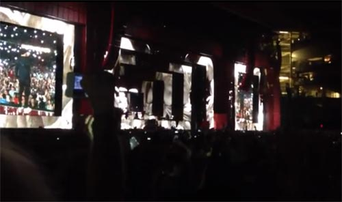 Justin Timberlake and Jay-Z in concert Yankee Stadium