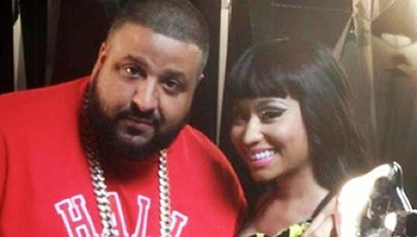 Photo - Nicki Minaj and DJ Khaled together