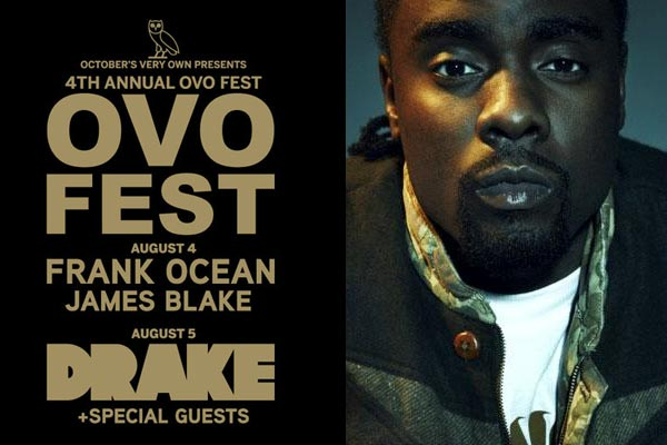 Drake brings on Wale for the OVO Fest