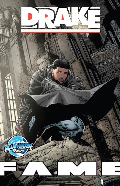 Fame Drake Comic Book Cover As Batman 2013