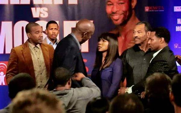 Elise Neal knocks out J.B. on Real Husbands of Hollywood